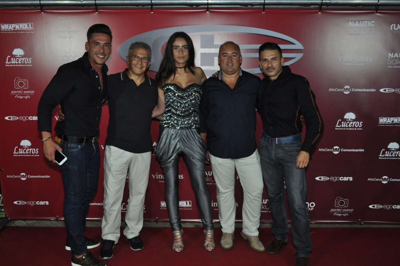 Spano Gta con la top internacional Cristina Stoico al volante (2)