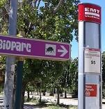 Transporte y turismo en Valencia.