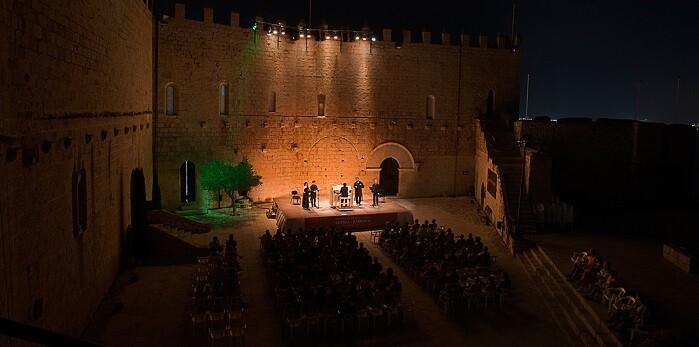 Una imagen del Festival Internacional de Música Antigua y Barroca de Peñíscola.