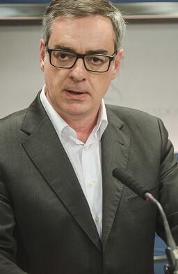 Villegas durante la rueda de prensa. (Foto- Ciudadanos).