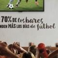 Vodafone ofrece el fútbol y los mejores eventos deportivos a bares, restaurantes y cafeterías.