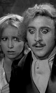 Wilder en una de sus películas más famosas.