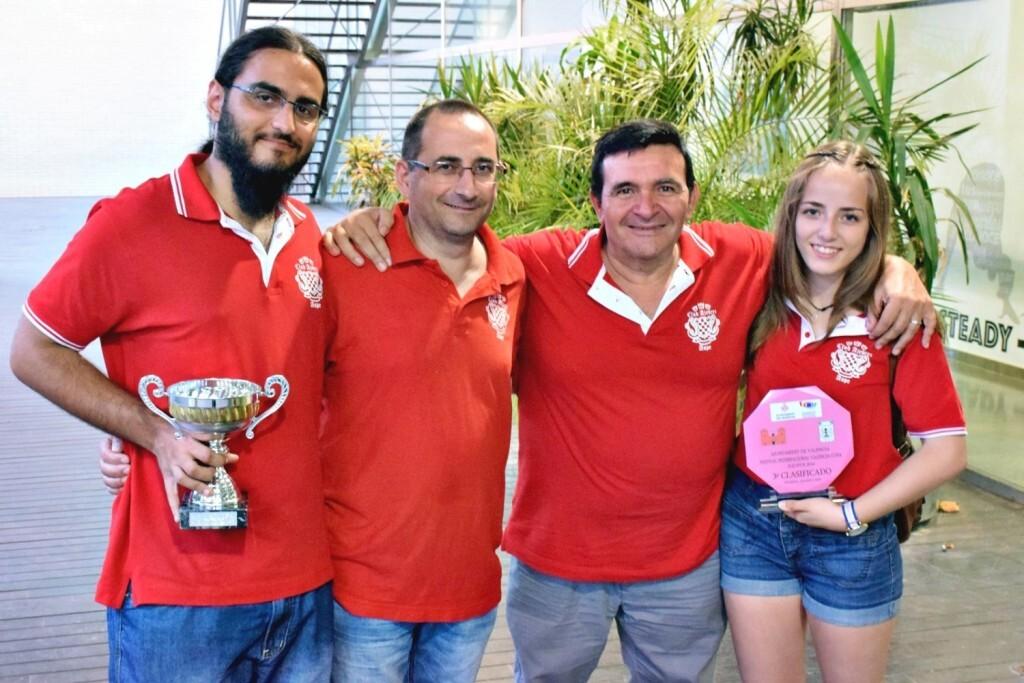 club Aspe. torneo por equipos