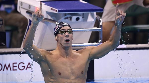 Michael Phelps es el máximo ganador de medallas olímpicas de la historia con 28 preseas (AFP)