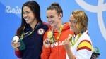 Mireia Belmonte, bronce en 400 estilos