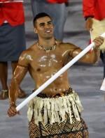 El abanderado de Tonga cataclismo en las redes sociales