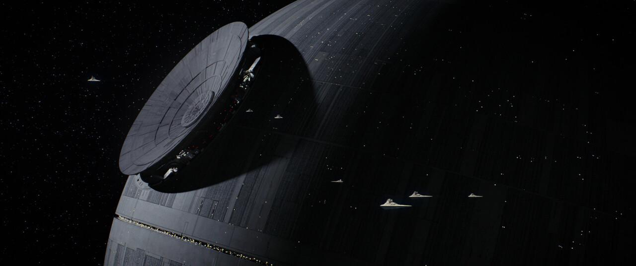 Rogue One: A Star Wars Story..Death Star..Ph: Film Frame..©Lucasfilm LFL