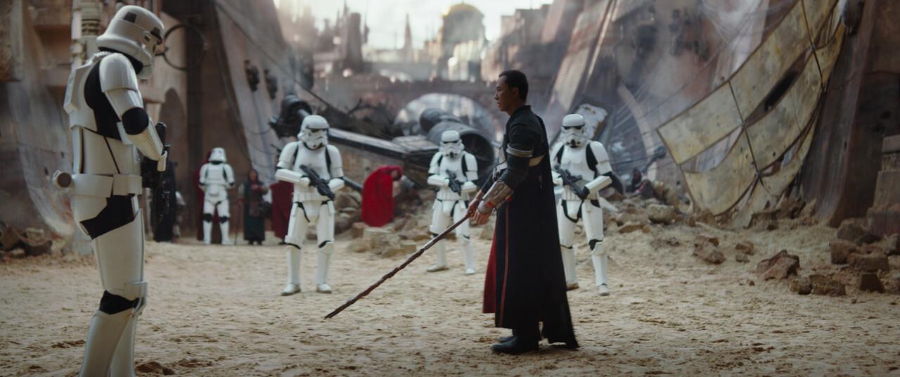 Rogue One: A Star Wars Story..(Donnie Yen)..Ph: Film Frame..©Lucasfilm LFL