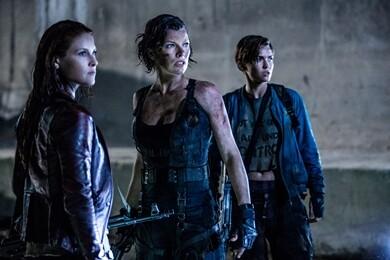 Ali Larter, Milla Jovovich and Ruby Rose star in Screen Gems' class=