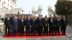 European Union leaders pose for a family photo during the European Union summit- the first one since Britain voted to quit- in Bratislava, Slovakia, September 16, 2016. REUTERS/Leonhard Foeger