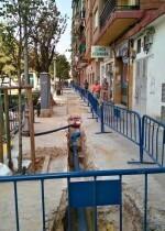 Actualmente se está trabajando dentro del distrito de Quatre Carreres, en el barrio de Malilla.