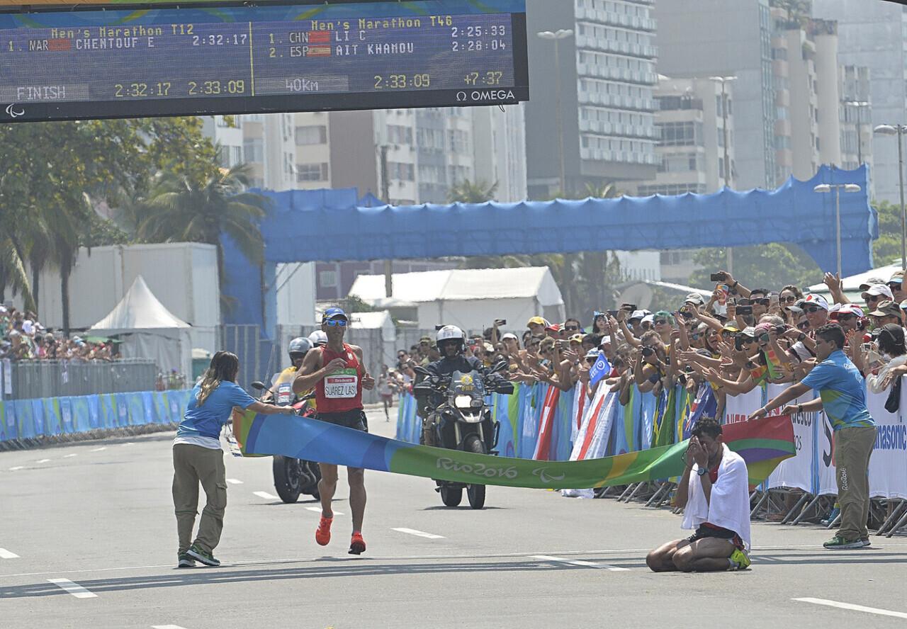 Carrera de Marathon en categorias T12-T46 Suarez