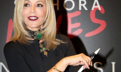 PARIS, FRANCE - SEPTEMBER 02:  Anastasia Soare attends the Anastasia Beverly Hills Launches Beauty Line Exclusively at Sephora Champs-Elysees on September 2, 2016 in Paris, France.  (Photo by Marc Piasecki/Getty Images for Sephora) *** Local Caption *** Anastasia Soare