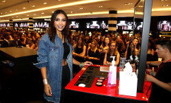 PARIS, FRANCE - SEPTEMBER 02:  Sananas attends the Anastasia Beverly Hills Launches Beauty Line Exclusively at Sephora Champs-Elysees on September 2, 2016 in Paris, France.  (Photo by Marc Piasecki/Getty Images for Sephora) *** Local Caption *** Sananas