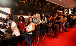 PARIS, FRANCE - SEPTEMBER 02:  A general view of atmosphere during the Anastasia Beverly Hills Launches Beauty Line Exclusively at Sephora Champs-Elysees on September 2, 2016 in Paris, France.  (Photo by Marc Piasecki/Getty Images for Sephora)
