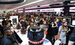 PARIS, FRANCE - SEPTEMBER 02:  A general view of atmosphere during the Anastasia Beverly Hills Launches Beauty Line Exclusively at Sephora Champs-Elysees on September 2, 2016 in Paris, France.  (Photo by Julien M. Hekimian/Getty Images for Sephora)