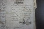 Título de tierra dado en Cuernavaca, 1732 procedes en Archivo General d e la Nación (México)