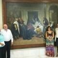 el-museo-de-bellas-artes-incorpora-la-obra-restaurada-la-muerte-de-don-quijote-del-alicantino-jose-lopez-tomas