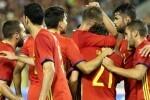 España golea a Liechtenstein 8-0.