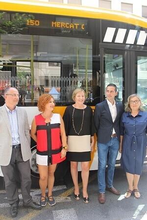 Fernanbús y la conselleria de Habitatge, Obres Públiques i Territori dan respuesta con este nuevo trazado a una de las reivindicaciones del Mercado.