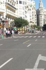la-jornada-transcurrio-con-normalidad-y-ningun-vehiculo-privado-rodo-por-la-plaza-del-ayuntamento