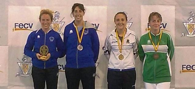 podium-espada-femenina-campeonato-autonomico-2016