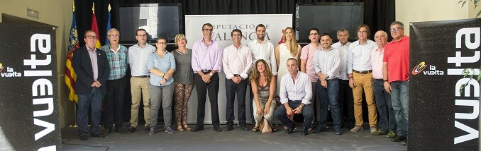 Presentación de la Vuelta Ciclista España 2016 a su paso por la Comunitat. (Foto-Abulaila).