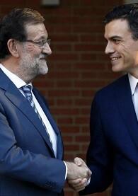 Sánchez y Rajoy en una imagen de archivo.