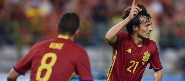Silva fue el gran protagonista del partido.