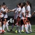 El Valencia es el primer líder de la Liga Iberdrola de fútbol femenino. Foto @VCF_Femenino