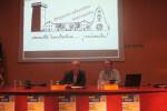 El director-gerente del Museo Arqueológico de Alicante, José Alberto Cortés, y el profesor del IES La Canal de Petrer Silvestre Navarro