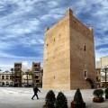 plaza Mayor y la Torre / Torrent, Valencia panorámica de 5 imágenes