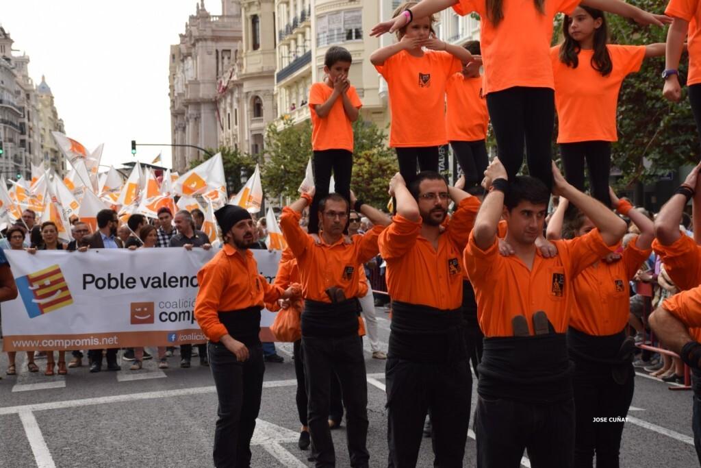procesion-civica-valencia-9-octubre-senera-senyera-partidos-politicios-4