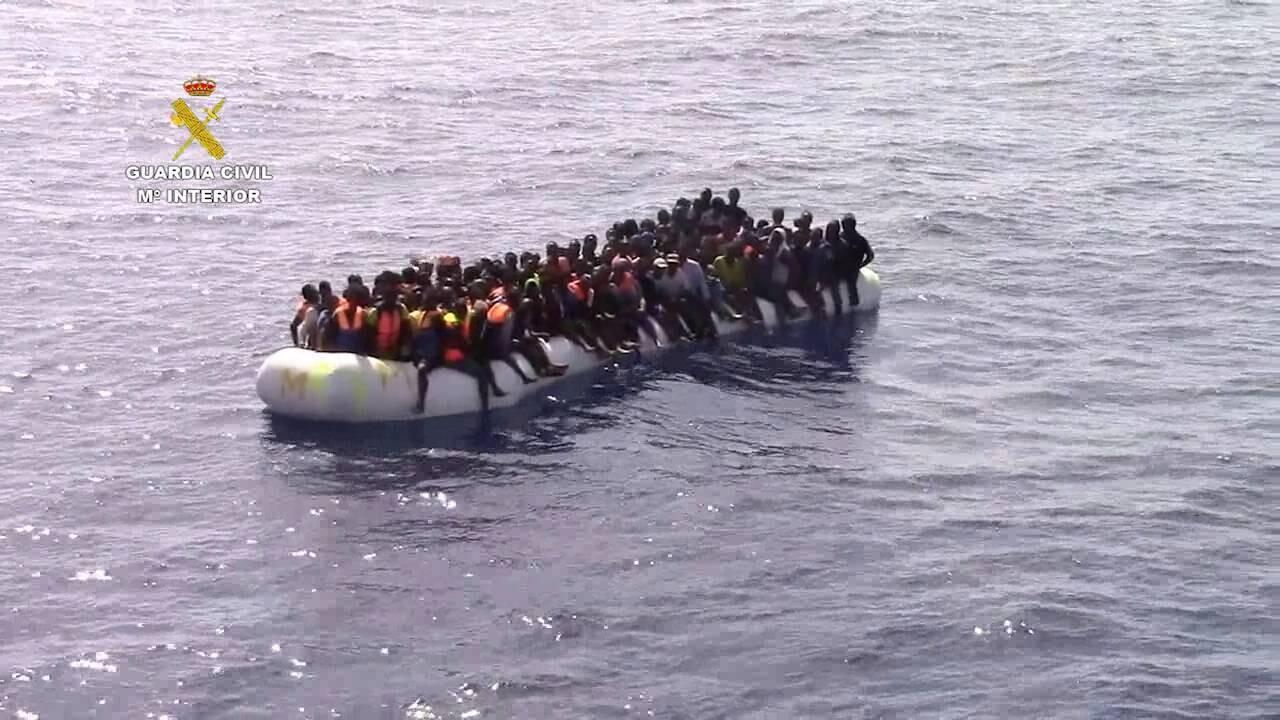 La Guardia Civil rescata a 1.258 inmigrantes en las costas de Libia
