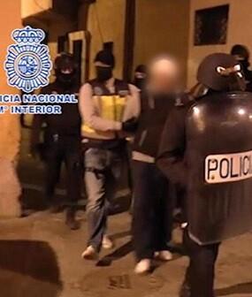 detencion-de-un-yihadista-en-una-imagen-de-archivo