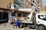 el-ayuntamiento-inicia-la-renovacion-del-alumbrado-de-la-calle-san-vicente