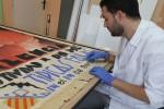 el-ayuntamiento-inicia-la-restauracion-de-la-coleccion-de-carteles-oficiales-del-museo-fallero
