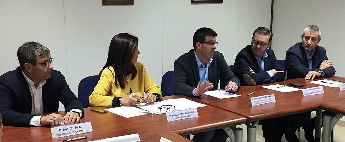 el-presidente-de-la-diputacion-se-reune-con-la-junta-directiva-de-la-confederacion-de-empresarios-del-comercio-valenciano-cecoval