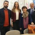 Reunió amb Silvia Costa en el Parlament - Eurodiputada que presideix la Comissió de Cultura i Educació.