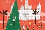 el-consistorio-felicita-las-fiestas-con-un-cartel-que-recrea-la-plaza-del-ayuntamiento
