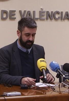 Concejal Pere fuset, actos de navidad