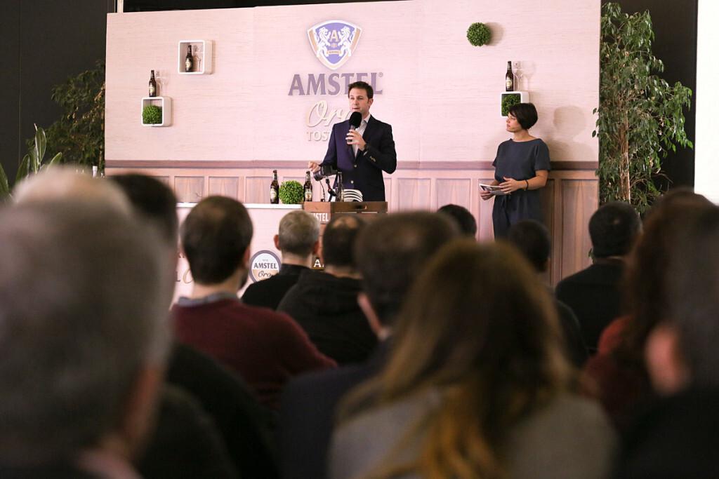 Manuel Román, Director Territorial de HEINEKEN España en Levante, en la apertura de las jornadas formativas de Pintxos Experience