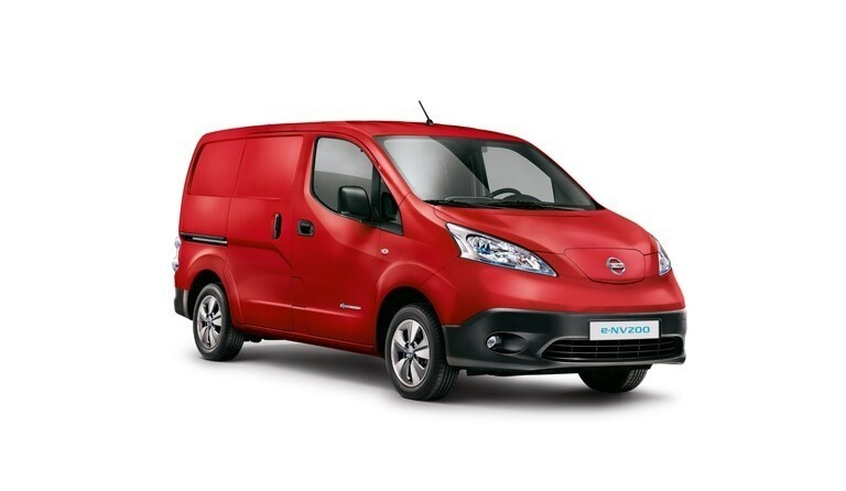 Nissan introduces market-leading five year warranty on the all-electric Nissan e-NV200