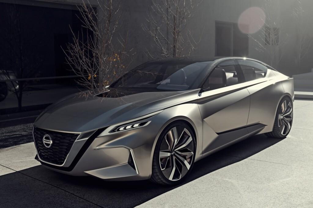Nissan presenta en el Salón Internacional del Automóvil de Detroit 2017 el concept Vmotion 2.0