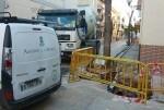 Aigües de l'Horta mejora las redes de agua potable en las calles Virgen de Montserrat y Bonavista de Picanya.