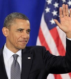 Barack Obama se despidió de la prensa.