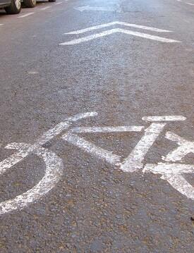 Caril bici. (Carril bici)