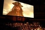 Cine en el Palau con la proyección de 'Piratas del Caribe' y la Orquesta de Valencia interpretando su música en directo.