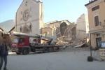 Cuatro fuertes seísmos sacuden el centro de Italia.