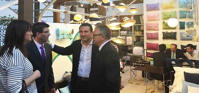 De los 117 expositores nacionales presentes en Heimtextil, 71 son de la Comunidad Valenciana, de ellos 45 de la provincia de Valencia.